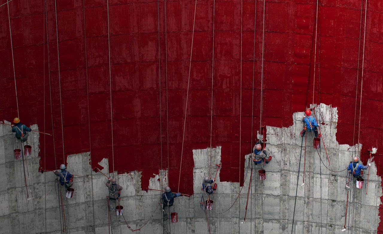 ГК Клининг Премиум. Промышленные альпинисты